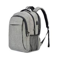 Computador portátil de viagem Backpack College School Bag Daypack casual com carregamento por USB Port