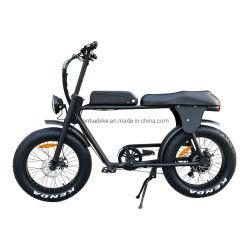 20 インチ 500W 脂肪質のタイヤの電気バイクの e バイクはと ペダル