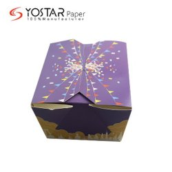 """Одноразовая упаковка продуктов питания белый картон торт """"Cookie в салоне в тематические группы"""