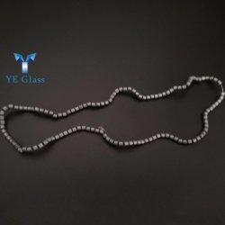 La hematita piedra Heishi cordones para pulseras, abalorios separador de disco de oro