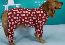 سوق الجملة رخيصة مخصص نسخة طبق الأصل مصمم الملابس الحيوانات الأليفة الأعلى براندلابرادور [سمويدس] [هسكي] نسل ملابس يمسح أربعة أقدام [رل-وونلين] علويّة الحيوانات الأليفة للملابس