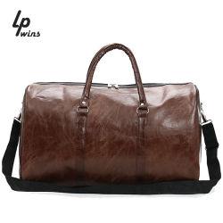 Het in het groot Modieuze Leer van Pu Dame Shoulder Bag Travel Duffle Zak
