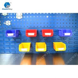 背部引出しの小さい部品のためのプラスチック収納用の箱をハングさせるPowerway