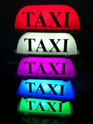 La luz de techo Taxi halógeno Keke magnético con un fuerte Cuadro de publicidad en Taxi Taxi Taxi señales de luz