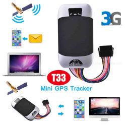 3G GPS de Drijver van het Voertuig van de Motorfiets met Brandstof/Acc/van de Deur/van de Schok Alarm T33