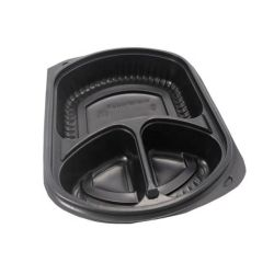 Comercio al por mayor de plástico personalizada Fiambrera de plástico envases de alimentos