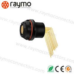 Auto Push-pull Mini-Snap série 16 broches du connecteur de verrouillage femelle prise Dbpu RM-F