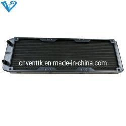 120mm de agua de refrigeración intercambiador de calor de la fila del refrigerador de la CPU del radiador con ventilador para la venta al por mayor de PC