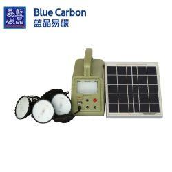 لوحة الطاقة الشمسية 5W الهند السعر المولد الطاقة نظام أطقم الإضاءة