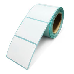 À prova de água e auto-adesivo papel térmico rolo para escala de supermercado etiqueta de preço Roll