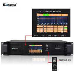 Amplificatore del modulo DSP dell'amplificatore di potere della Manica del professionista 4 di DSP10000q audio