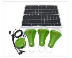 Casa Solar Sistema de iluminação LED/Home a energia solar para o Sistema Global de iluminação Sunrise Sre-88G-3
