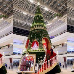 Acryl-Motiv beleuchtet Weihnachtsbaum für Outdoor-Dekor