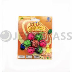 كرة الأطفال لعبة ، كرات ترتد ، كرة مطاطية ، لعبة بيع ، كرات بطاقة بليستر