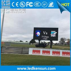 축구 LED 벽 스타디움 야외 광고 LED 디스플레이 화면 P10