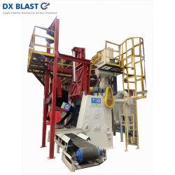 Tipo macchina della cinghia di caduta di industria della fonderia ISO9001 di granigliatura per pulizia di granigliatura delle parti del pezzo fuso
