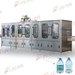 Remplissage de l'eau potable minérale Full-Automatic le plafonnement de l'emballage de liquides de boire de l'embouteillage de boissons de l'eau minérale pure Bouchon de remplissage/machine de remplissage