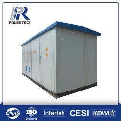 Sottostazione compatta prefabbricata completa di distribuzione a bagno d'olio di corrente elettrica