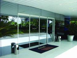 De Chinese Glijdende Poort van de Deur van het Glasplaatje van het Aluminium van de Leverancier Commerciële
