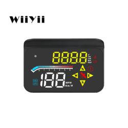 Calibro astuto di Digitahi dello strumento diagnostico dell'automobile del telefono di Hud della visualizzazione M17 OBD2 del limitatore automatico di velocità