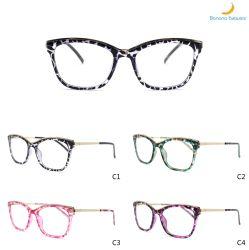 Les femmes de haute qualité d'injection plastique les trames de lunettes de charnière de ressort