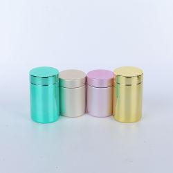حاوية من الكروم تحتوي على مواد بلاستيكية HDPE مع أغطية PP لحزمة الكمبيوتر اللوحي