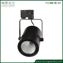 디스트리뷰터 15W 30W 40W 다방 상업적인 프로젝트 옥수수 속 3 단계 LED 궤도 빛 LED 램프 LED 빛