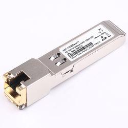Электрические оптический модуль портов Gigabit и 10 Gigabit SFP+ 10g разъема RJ45 10gbe SFP+