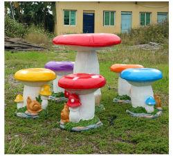 Сказка Fariy гриб мебель и детский уголок для приготовления чая группа набор таблицы грибов