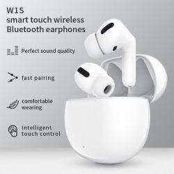 최신 W1s 미니 True 헤드폰 스테레오 TWS I5000 Airoha PRO 무선 이어폰 이어버드 W1의 무선 Bluetooth