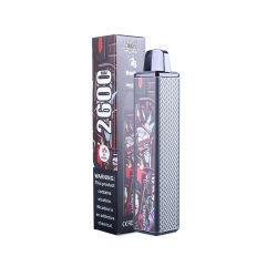 أفضل سعر 2600 مأطح Vape عالي الجودة E-Cigarette يمكن التخلص منه الجملة