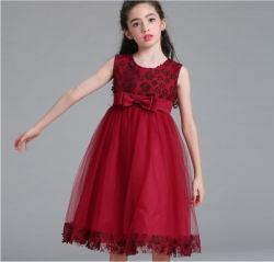 아이 결혼 예복을%s Sequins를 가진 Dress 소녀 꽃 공주