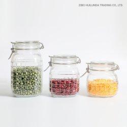 Flacone per la conservazione di alimenti sigillato in vetro da 1600 ml 1100 ml 850 ml