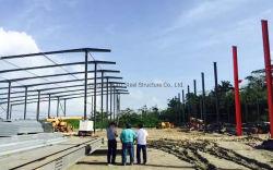 Estructura de acero de diseño moderno edificio de almacén (KXD-SSB17).