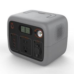 Beweglicher SolarNotstrom-mini leiser Generator des generator-Luki300 mit AC/DC/USB Ausgaben, LED-Beleuchtung