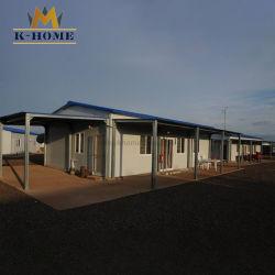 바로 만들어진 모듈식 구조용 강철 프레임, 조그마한 집(House) 노동캠프를 위한