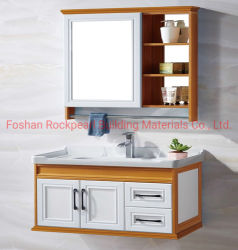 Vente directe d'usine chinoise Hot design moderne Salle de Bain lavabo avec des armoires de bas prix