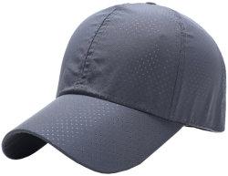 Мягкая микрофибра полиэстер сухой установите отверстие дышащий спорта работает Шляпы