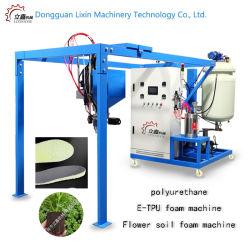 La formation de mousse de polyuréthane Etpu mousse de la formation de mousse de PU de la machine machine machine de la formation de mousse de basse pression de la mousse de polyuréthane de la machine du caisson de machines pour fabriquer des chaussures