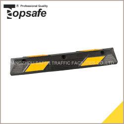 Veilige Verkeersveiligheid 90cm van de weg het RubberBlok van het Parkeren van het Einde van het Wiel