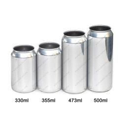 250ML 330ML 355ml 473ML 500ml 12oz latas de bebidas de aluminio de 16oz.