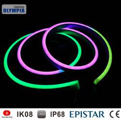 IP68 néon LED multi piscine couleur des bandes de Flex