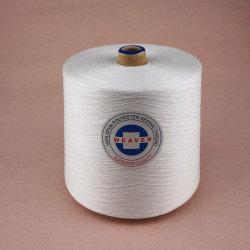 Virgem 100% de fibras descontínuas de poliésteres 30/1