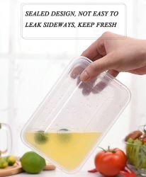 食品等級パンのための使い捨て可能なペットゆとりのプラスチックまめの包装の容器かケーキまたは食糧