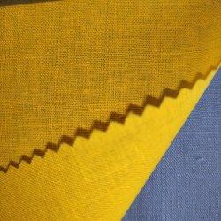 綿のリネン固体染められたShirtingファブリック