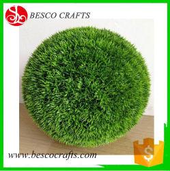 13' pouce topiaire Evergreen PE de l'herbe avec protection UV à billes