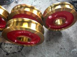 Ruedas de acero fabricante certificado CE Drs Bloque de la rueda de 200mm con motor de 1.1kw