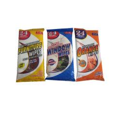 Оптовая торговля не соткана ткань для очистки бытовых влажных салфеток чистящая ткань ткани производителя