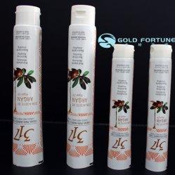 Haar-Farben-Aluminiumplastik lamellierte Gefäß-Verpackung mit Schraube an der Schutzkappe