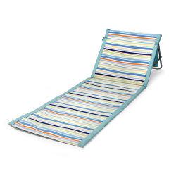 De droge Snelle Chaise van de Mat van het Strand van de Zon van het Embleem van Oxford Stof Aangepaste Stoel van de Zitkamer